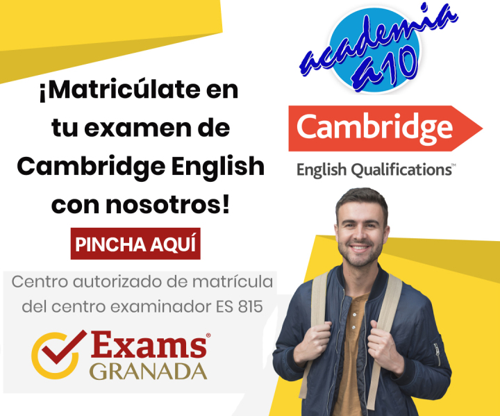 Matrícula exámenes Cambridge English